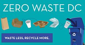 Waste Less, Recycle More: Zero Waste DC